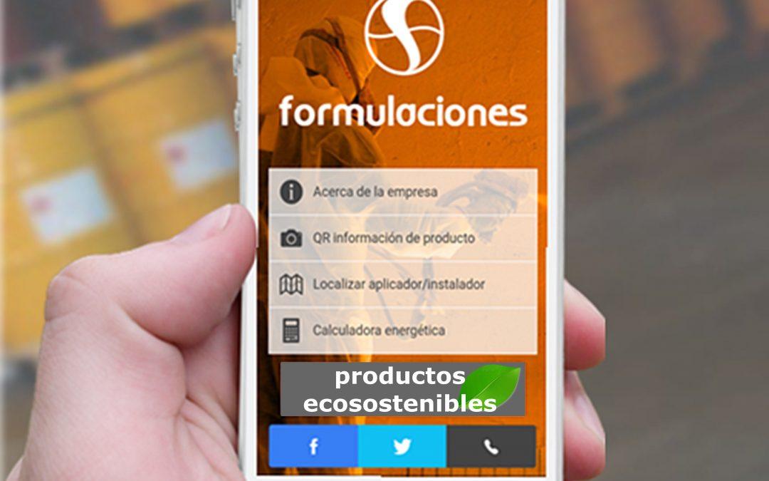Formulaciones lanza su propia app