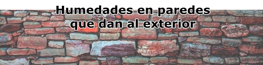 Formulaciones-Humedades en paredes que dan al exterior