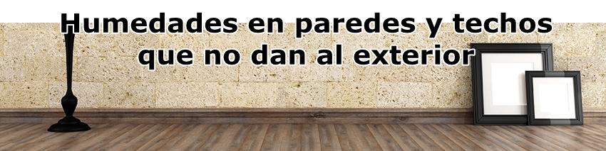 Formulaciones-Humedades en paredes y techos que no dan al exterior