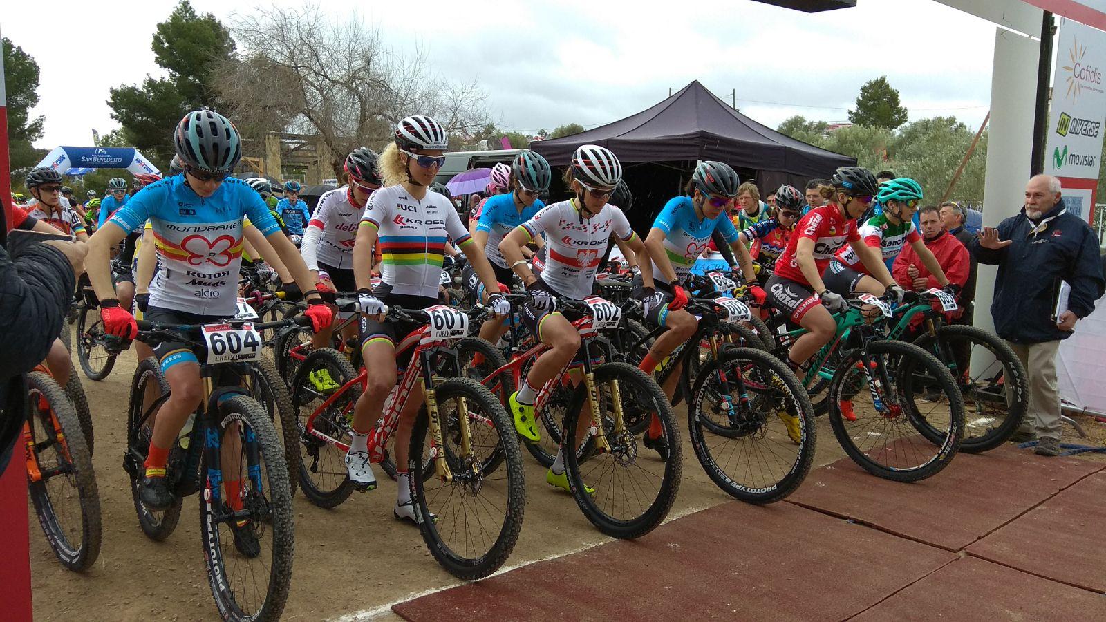 Tercera competición nacional de mtb de nuestra ciclista