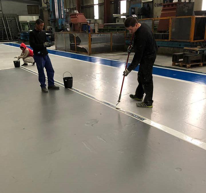 Pavimentos de poliuretano, epoxi y poliureas. Suelos duraderos y a prueba de todo