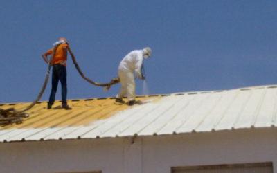El poliuretano de Formulaciones alarga la vida de tejados y cubiertas