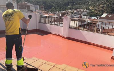 Impermeabilización de terraza con HIDROFORMA P1N0