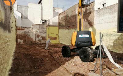 Aislamiento térmico con POLIFORMA 3212 tras la demolición de una edificación